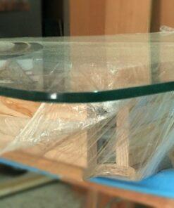 Cristal mesa camilla rectangular