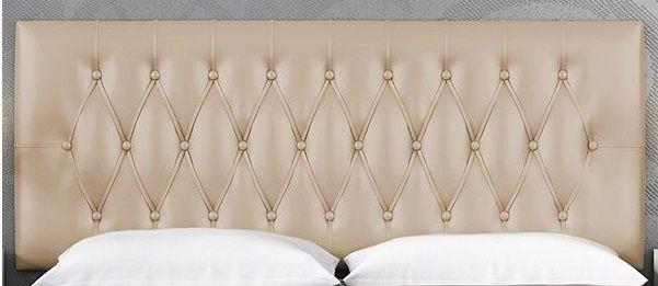 Cabecero de polipiel tapizado mueblesmcaso - Cabecero de cama acolchado ...