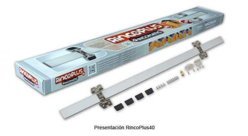Bisagra RincoPLUS40 Aluminio INOX