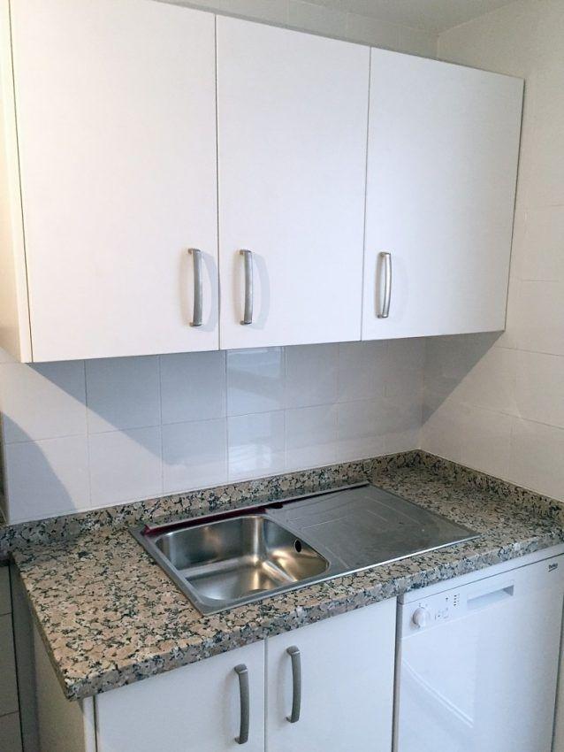 Cocina color blanca cocinas economicas en sevilla for Color credence cocina blanca