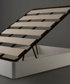 Canape madera abatible MAXI con tapa de laminas