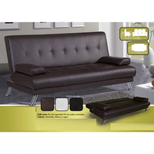 Sofa cama clic clac mueblesmcaso for Sofa cama sevilla