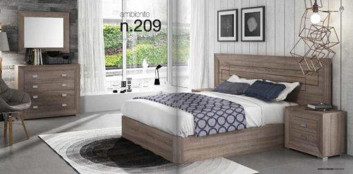 Dormitorios matrimonio Britannia Orion 209