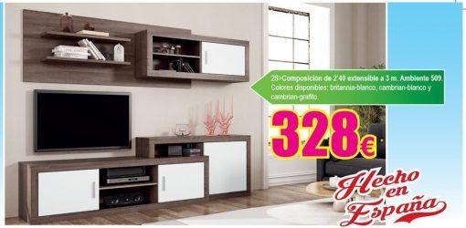 Mueble tv Ambiente 509 1 Mueble tv Ambiente 509