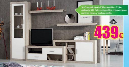 Composición salón Ambiente 515