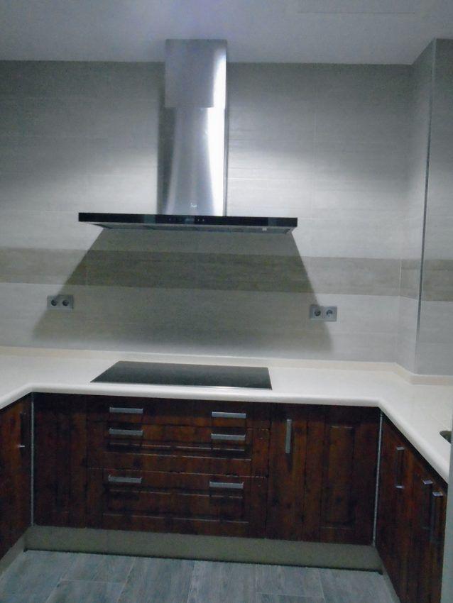 Frontal cocina rustica