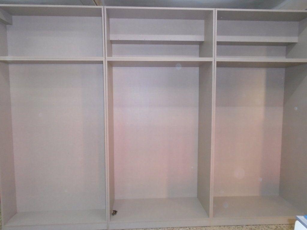 Interior armarios empotrados mueblesmcaso - Modulos interior armario ...