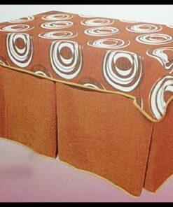 Pack Mesa de camilla rectangular completa 6 Fuelles