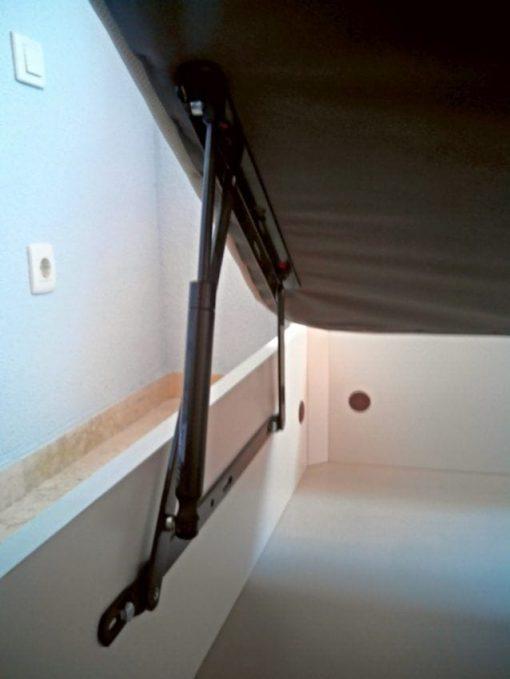 Amortiguador Gas CLICK para Canape Abatible ( 2 Unidades)