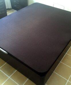 Canape madera abatible ZEUS con tapa tapizada 3D