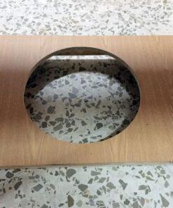 Mesa camilla completa (Mesa+Falda+Cristal+Tapete) 100x70x71