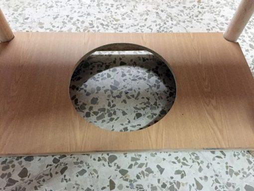 Mesa de camilla rectangular completa Ropa Multifuelles