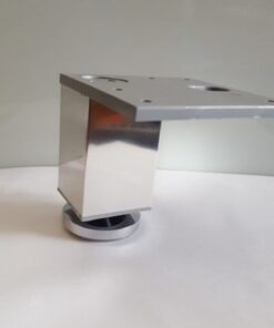 Pata decorativa Aluminio cuadrada