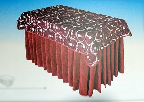 Mesa camilla rectangular completa