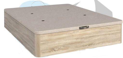 Canape abatible ECO con tapa tapizada 3D