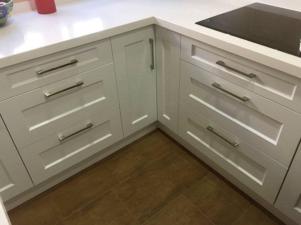 Cocina Lacada Blanca Satinada Muebles De Cocina En Dos