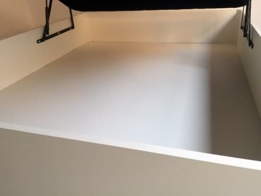 Canapé Sevilla Madera Abatible con Tapa Tapizada 3D