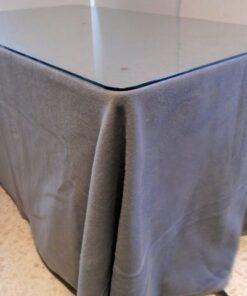 Falda Mesa Camilla Invierno Rectangular con medida 120x70x75