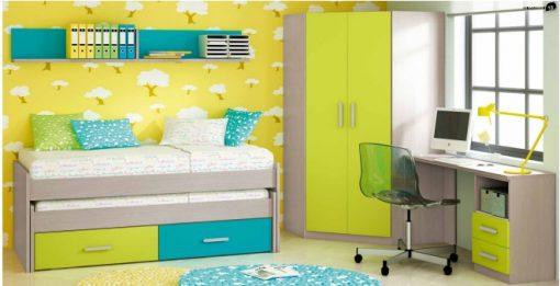 Dormitorio Juvenil Rio 404