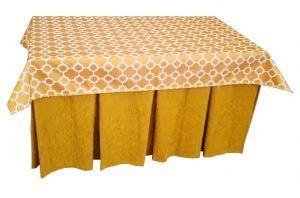 Falda mesa camilla rectangular
