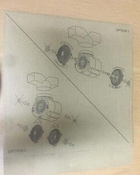 FILTRO CARBON DECORATIVAS MODERNAS (MOTOR PLASTICO) 190MM