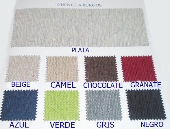 Falda mesa camilla rectangular Serie Burgos