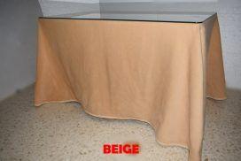 Falda camilla rectangular Beige (7)