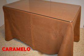 Falda camilla rectangular Caramelo (2)