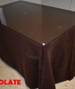 Falda camilla rectangular Chocolate (3)