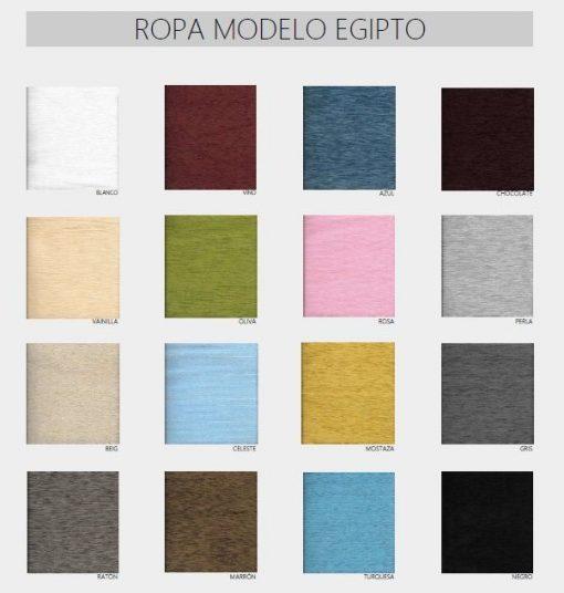 Falda camilla rectangular Egipto 2020