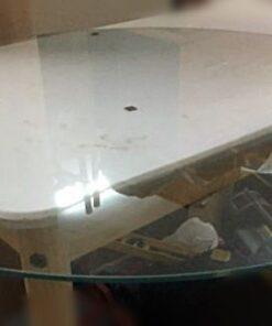 Cristal mesa camilla redonda