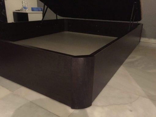 Pack Canape abatible más colchón Visco Carbono 150x190 4 Pack Canape abatible más colchón Visco Carbono 150x190