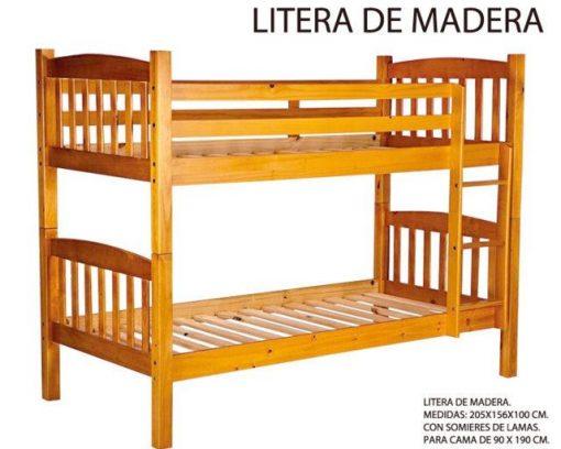 Litera de Madera