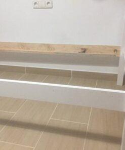 Litera de madera lacada blanca (1)