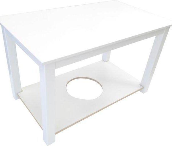 mesa camilla rectangular lacada