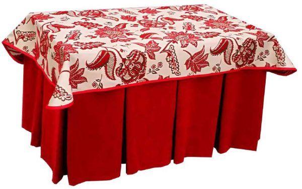 Falda mesa camilla Rectangular Italia