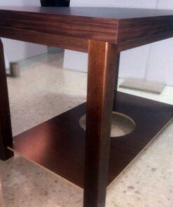Conjunto Mesa Camilla Rectangular Doble Tapa Sevilla