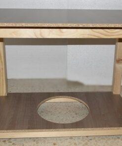 Pack Mesa de Camilla Rectangular Completa con Radiador