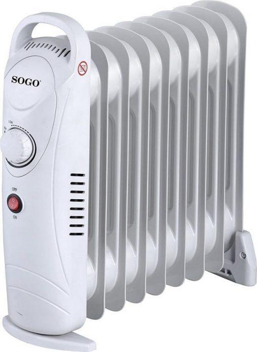 Mini radiador aceite SOGO SS18219 1000W
