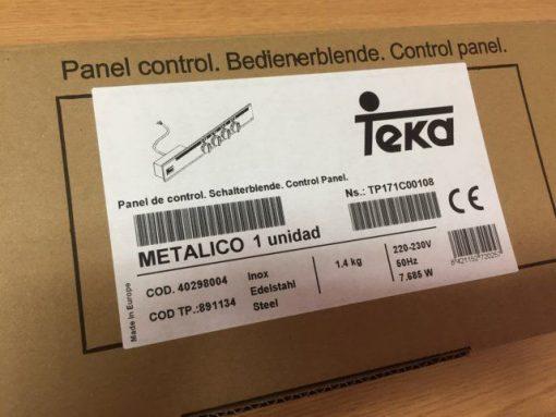 Portamandos TEKA INOX - Panel de Mandos Cocina TEKA