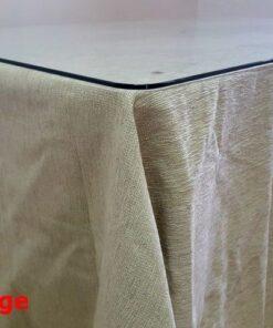 Ropa Camilla Rectangular Chenilla - 120x70 - Faldas Mesa Camilla