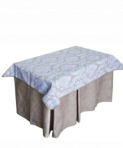 Pack Mesa de camilla rectangular completa Antimanchas