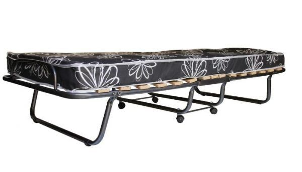 Plegatin con ruedas de 80x190 con colch n oferta camas for Mesas supletorias plegables