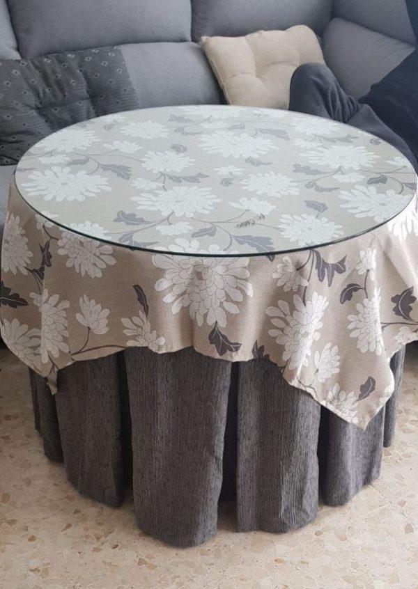 Pack mesa camilla redonda completa desde 149 00 euros - Mesas camillas redondas ...