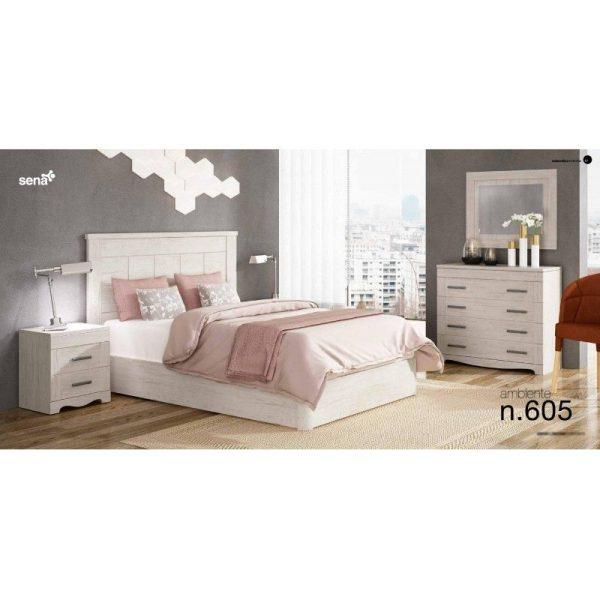 Dormitorio matrimonio Sena 605