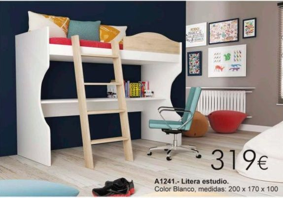 Litera De Madera Sevilla 90x190 Wwwmueblesmcasocom