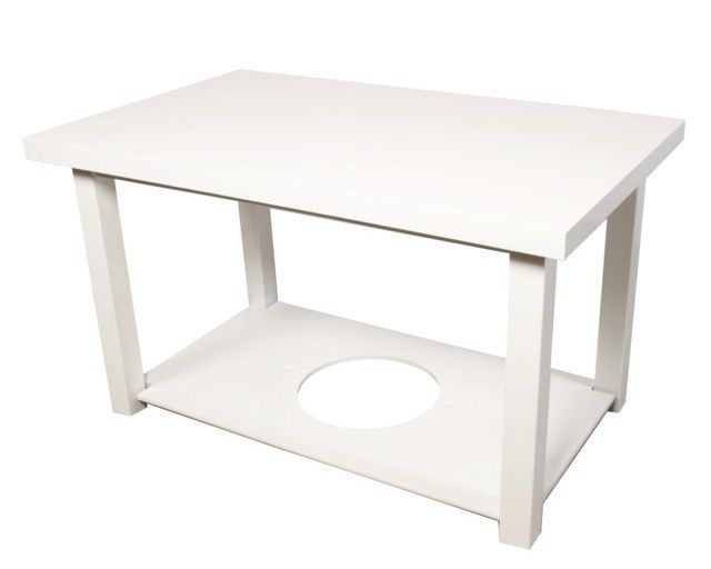 Mesa Camilla Rectangular Doble tapa