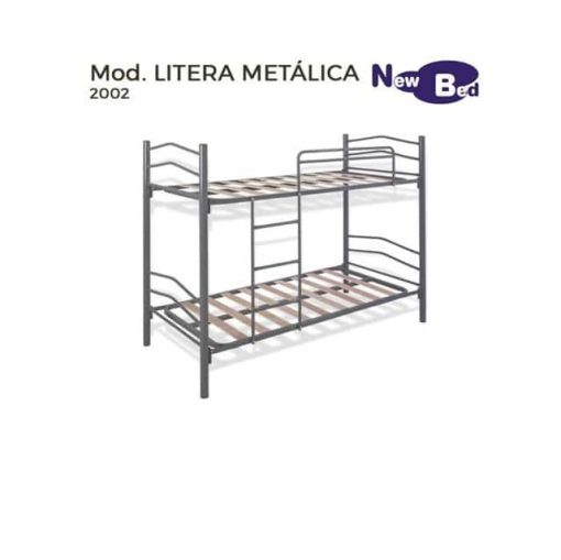 Litera Modelo Grey Metálica