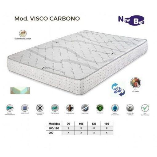 Pack Canape abatible más colchón Visco Carbono 150x190 1 Pack Canape abatible más colchón Visco Carbono 150x190