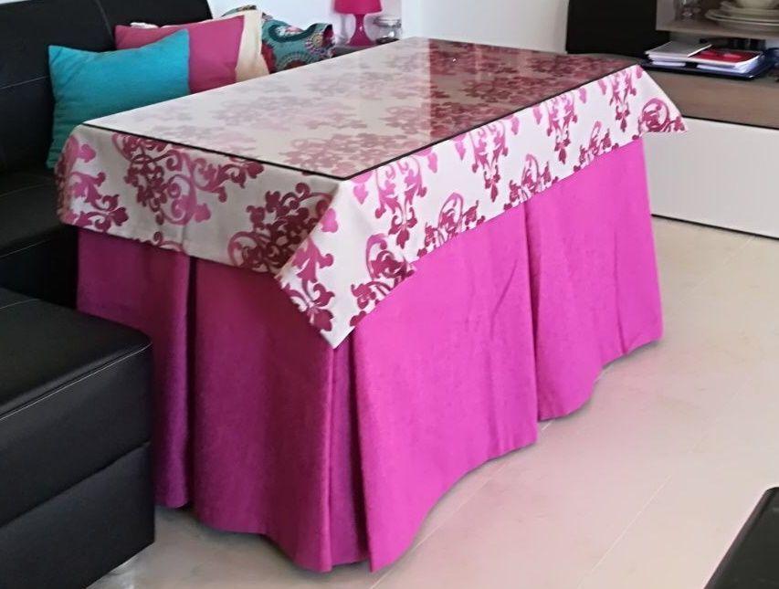 mesa camilla rectangular incluye tarima www